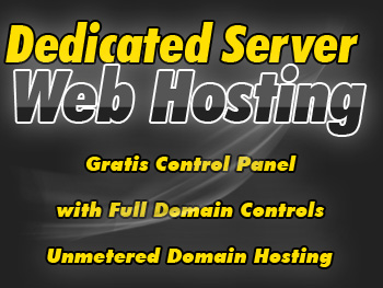 Discounted dedicated web hosting service